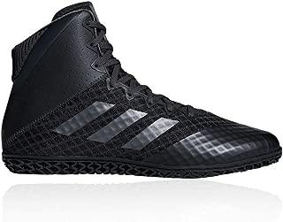 adidas Mat Wizard 4 Mens Adult Wrestling Trainer Shoe Boot Black