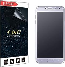 J&D Compatible para 8-Pack Protector de Pantalla para Galaxy J4 2018, [Anti reflejante] [Anti-Huella Dactilar] [NO Cobertura Completa] Película Mate Protector de Pantalla para Samsung Galaxy J4 2018