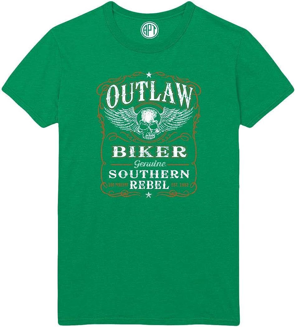 Outlaw Biker Printed T-Shirt