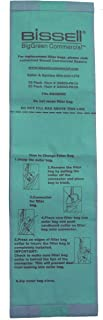 Bissell Commercial Replacement Bags for BGU8000, 25/Pack