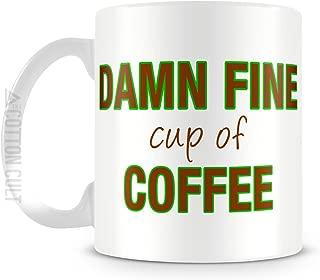 Damn Fine Cup of Coffee Mug 11oz Ceramic Twin Peaks Coffee Mug