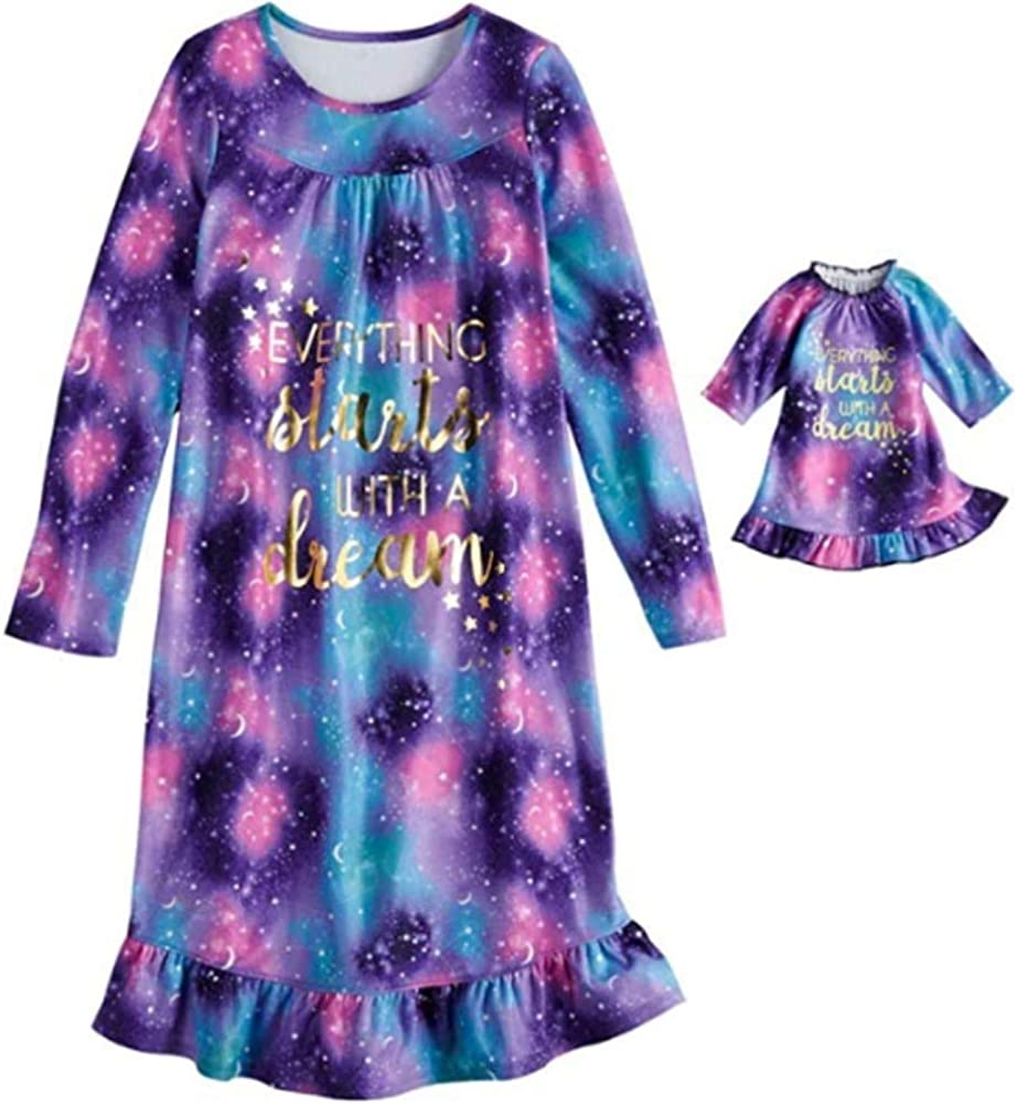 Girl's Nightgown Matching 18