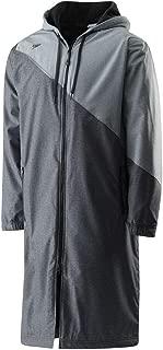 Speedo Color Block Warm Fleece Water-Resistant Hooded Parka