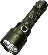 ANGSUANG LED Zaklamp 21700 Lantaarn 3500 ml Lantaarn Torch Met Power Indicator 18650 Zaklamp Outdoor