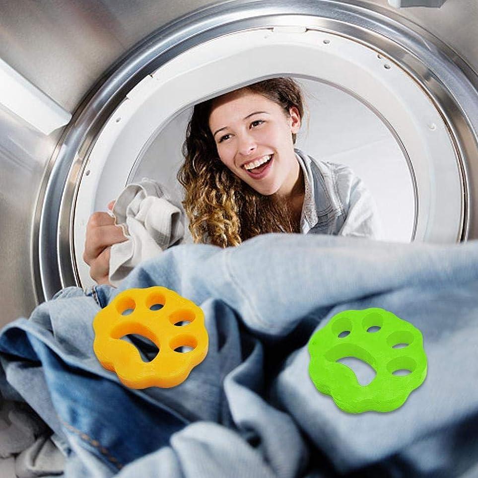 以上ウミウシペグLibeauty 2ピースクリーニングボール洗濯機脱毛装置ペット理髪服脱毛器ドライヤーペット脱毛パッド再利用可能