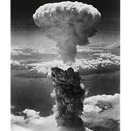 MURAL GIANT POSTER 55x40 ATOM BOMB