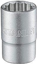Stanley 1-17-068 12-punts dopsleutel, zilver, 1/2-inch 26 mm