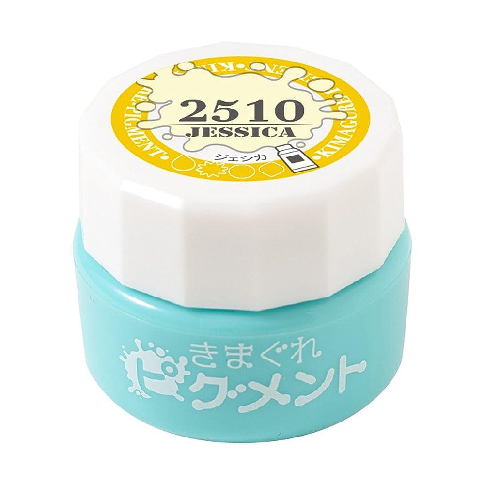 かご永遠の腐敗Bettygel きまぐれピグメント ジェシカ QYJ-2510 4g UV/LED対応