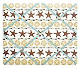 NEW VIEW Starfish and Sand Dollar Beach Theme French Memo Board