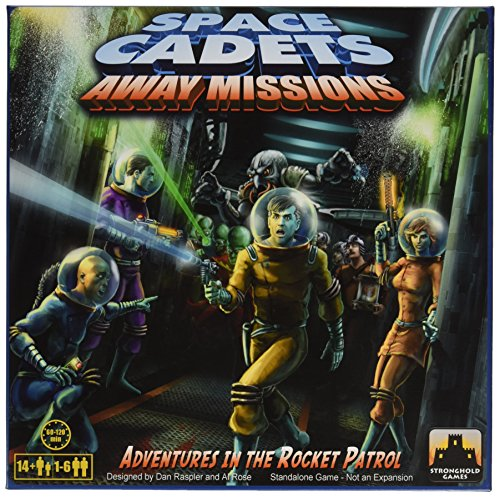 Stronghold Games 5001SG - Brettspiele, Space Cadets, Away Missions