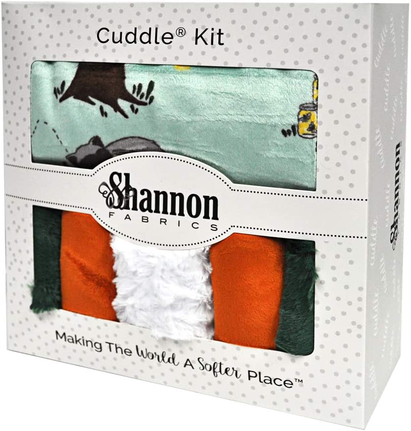 Shannon Fabrics 当店一番人気 Minky 売り込み Cuddle Picture Perfect Kritte Kit
