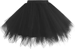 Women 1950s Short Vintage Tulle Petticoat Skirt Ballet...