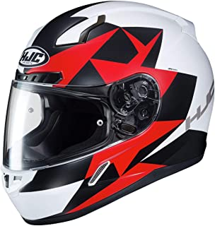 HJC CL-17 Helmet - Ragua (X-Large) (White/RED)
