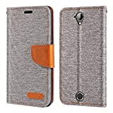 Acer Liquid Z330 Case, Oxford Leather Wallet Case with Soft