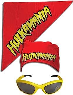 hulk hogan bandana with hair