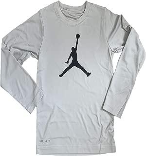 Jordan Youth Toddler/Kids Boys Long Sleeves Winter Hooded Dry-Fit T-Shirt