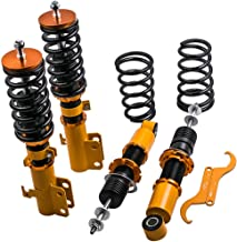 Adjustable Height Coilovers Shocks for Toyota Corolla/Matrix 03 04 05 06 07 08 Coil Over Springs Suspensions Struts - Golden