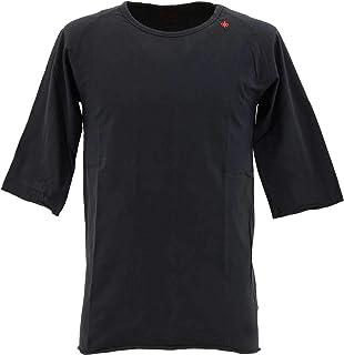 [SWEEP!! LosAngeles スウィープ ロサンゼルス] メンズ コットン 5分袖 ラグランスリーブTシャツ RAGLAN SWFJRLN-04 NAVY(ネイビー)