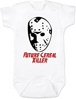Vulgar Baby Bodysuit, Jason Cereal Killer