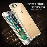 スペックコンピュータ rearth Ringke Fusion for iPhone7Plus アイホンケース (クリア)