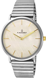 Radiant ginger Womens Analog Quartz Watch with Stainless Steel bracelet RA475203