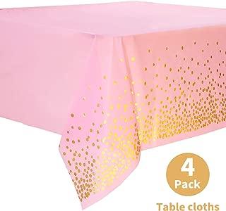 Best pink table cloths bulk Reviews