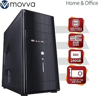 COMPUTADOR LITHIUM AMD RYZEN 5 HEXA CORE 2600 3.4GHZ 19MB CACHE MEM 8GB SSD 240B VGA GT 730 4GB GDDR3 FONTE 500W LINUX - MOVVA
