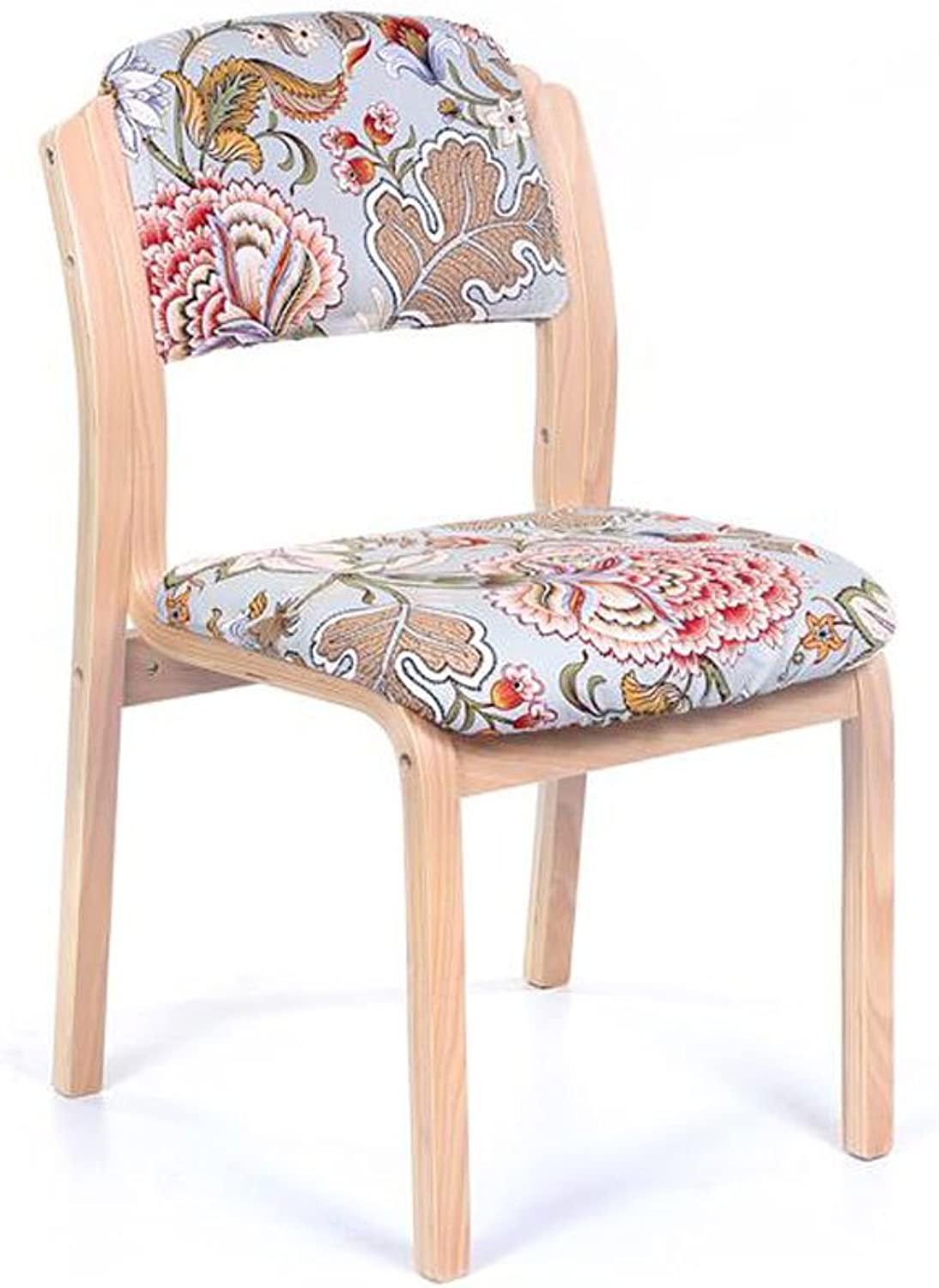 Simpli Home Ezra Deluxe Dining Chair, Fawn Brown (Set of 2)