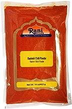 Rani Kashmiri Chilli Powder (Deggi Mirch, Low Heat) Ground Indian Spice 14oz (400g) ~ All Natural, Salt-Free   Vegan   No Colors   Gluten Free Ingredients   NON-GMO   Indian Origin