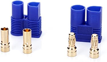 DYS 10 Pairs EC3 Connector Male Female 3mm Type Battery Connector Gold Bullet Plug ARE4