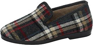 MADE IN SPAIN 163 Chinelas DE Cuadros Hombre Zapatillas CASA