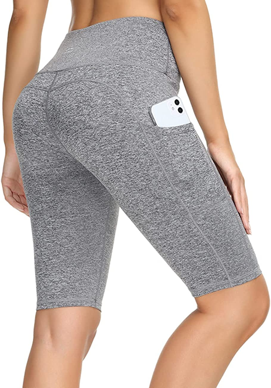 ALONG FIT Yoga 2021 spring and summer new Shorts for Women High with Biker P Spring new work Waisted