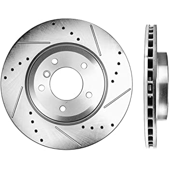 Front And Rear Brake Disc Rotors /& Ceramic Pads For 2006 2007 2008 BMW Z4 3.0Si