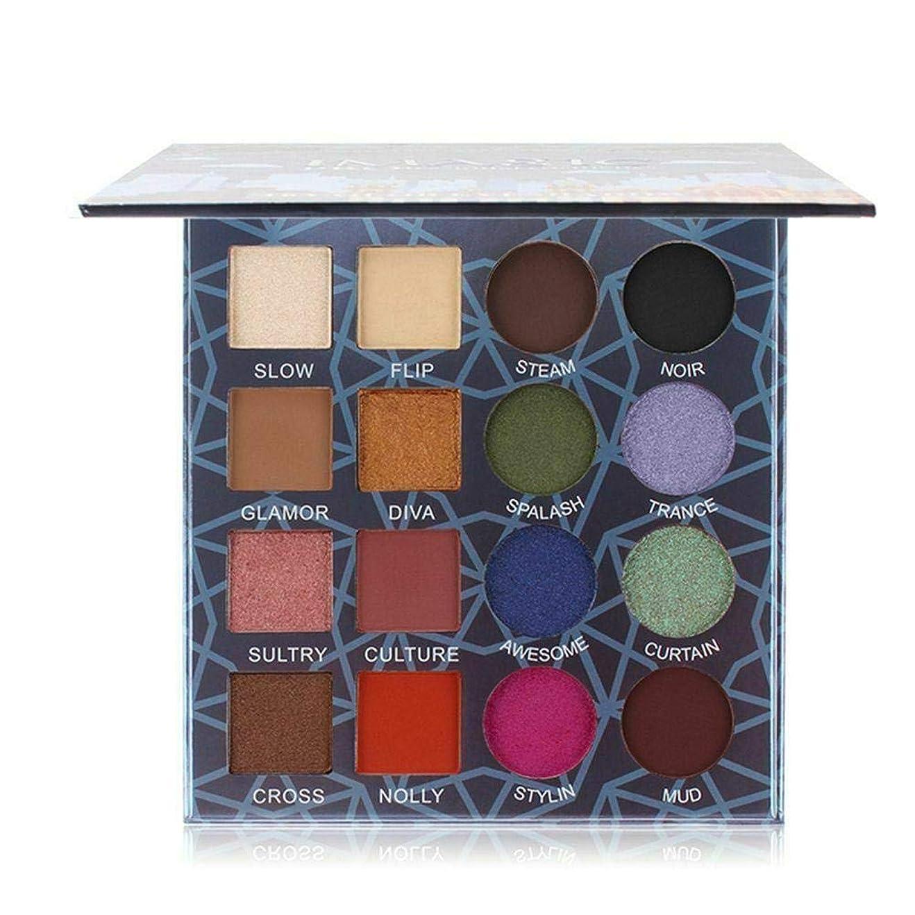 想像力解くトピックBETTER YOU (ベター ュー) アイシャドウトレイ、真珠光沢、マット、ミックスアイシャドウトレイ、防水、汚れやすい、16色