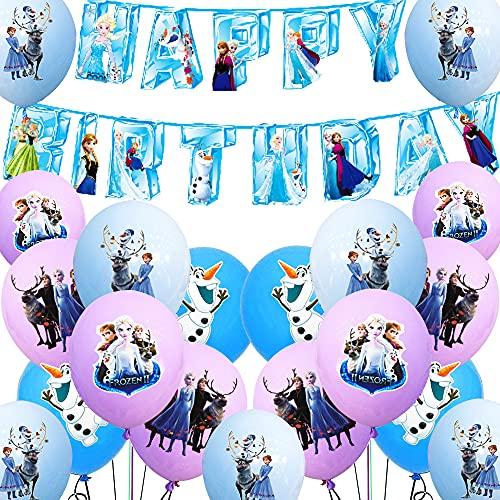 Elsa Princess Geburtstag Luftballon...