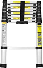 JASON /Échelle T/élescopique /Échelle Extensible Pliable En Aluminium 3.8M /Échelle De Loft T/élescopique Capacit/é de 330 Lb
