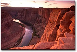Alva443Anne Wall Art Painting Colorado River Through The Grand Canyon Sunrise Pictures Print On Canvas Giclee Wooden Frame...