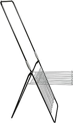 日本クリンテック 物干し台・物干しラック ホワイト 35×97×4cm L-001BR