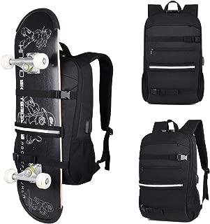 Hypeteck Sport Bag Laptop Skateboard Backpack Water Resistant 15.6 Inch