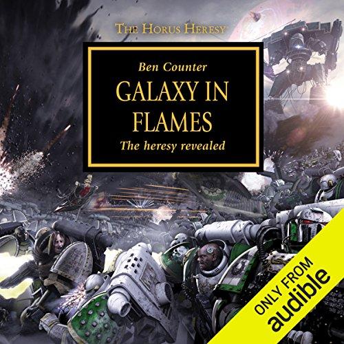Galaxy in Flames Titelbild