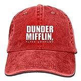 Dunder Mifflin For Adult Adjustable Cotton Jeans Hat Washed Vintage Baseball Cap Multicolor47
