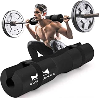 Barbell Pad Squat Pad for Squats, Lunges and Hip Thrusts Foam Sponge Pad - Provides Relief to Neck and Shoulders While Tra...