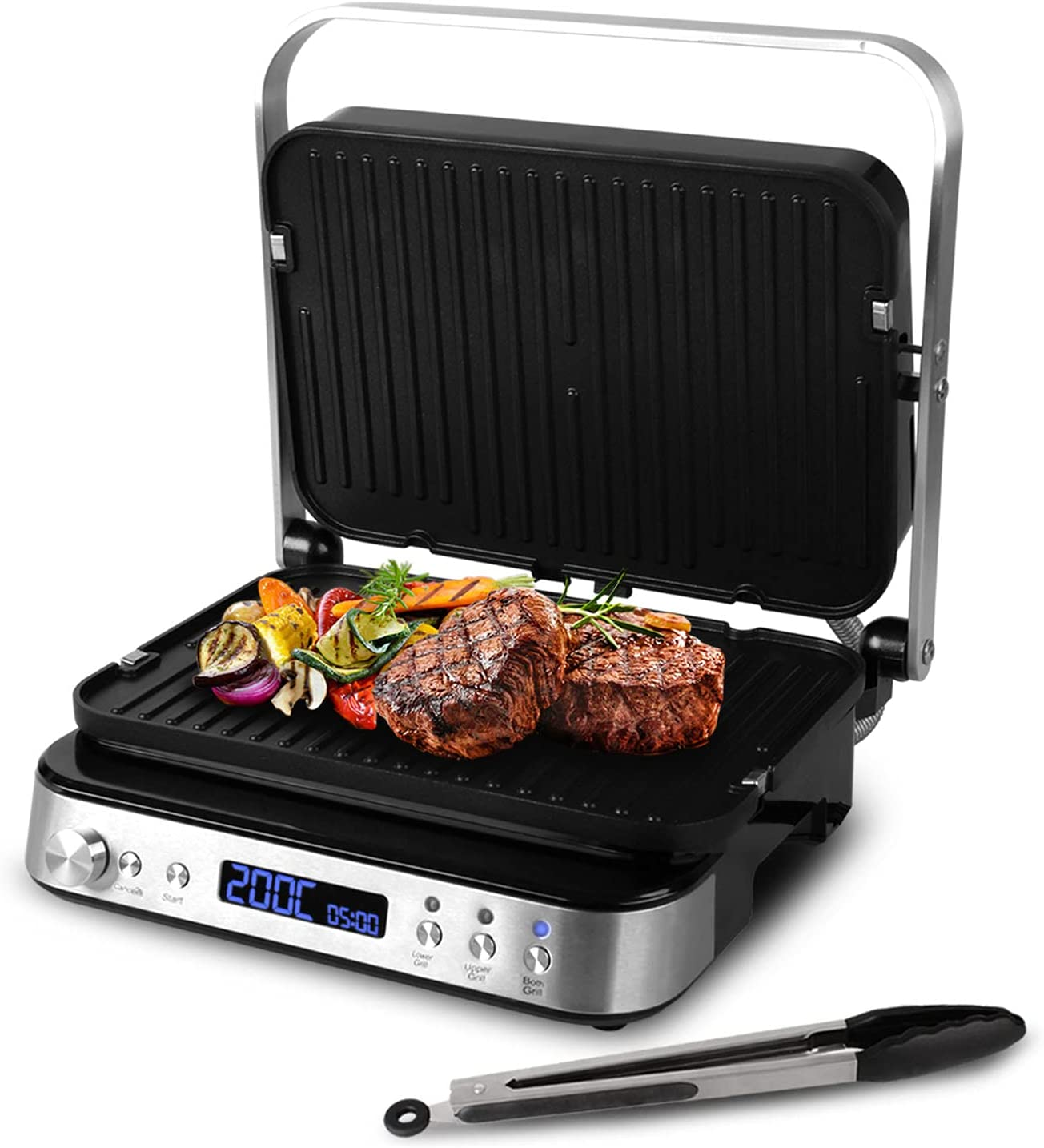 Artestia Electric Indoor Searing Grill-Electric Griddler of Cook 2021 autumn and winter new Inventory cleanup selling sale
