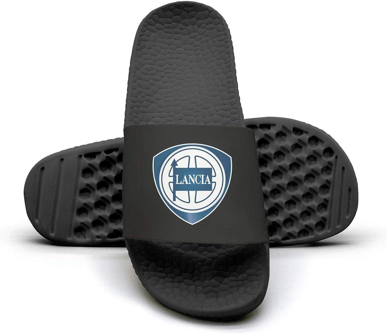 EIGKASL Printed Non-Slip Slipper Slide flip Flop Sandals Lancia-Logo-Symbol-Emblem-Summer Soft for Womens