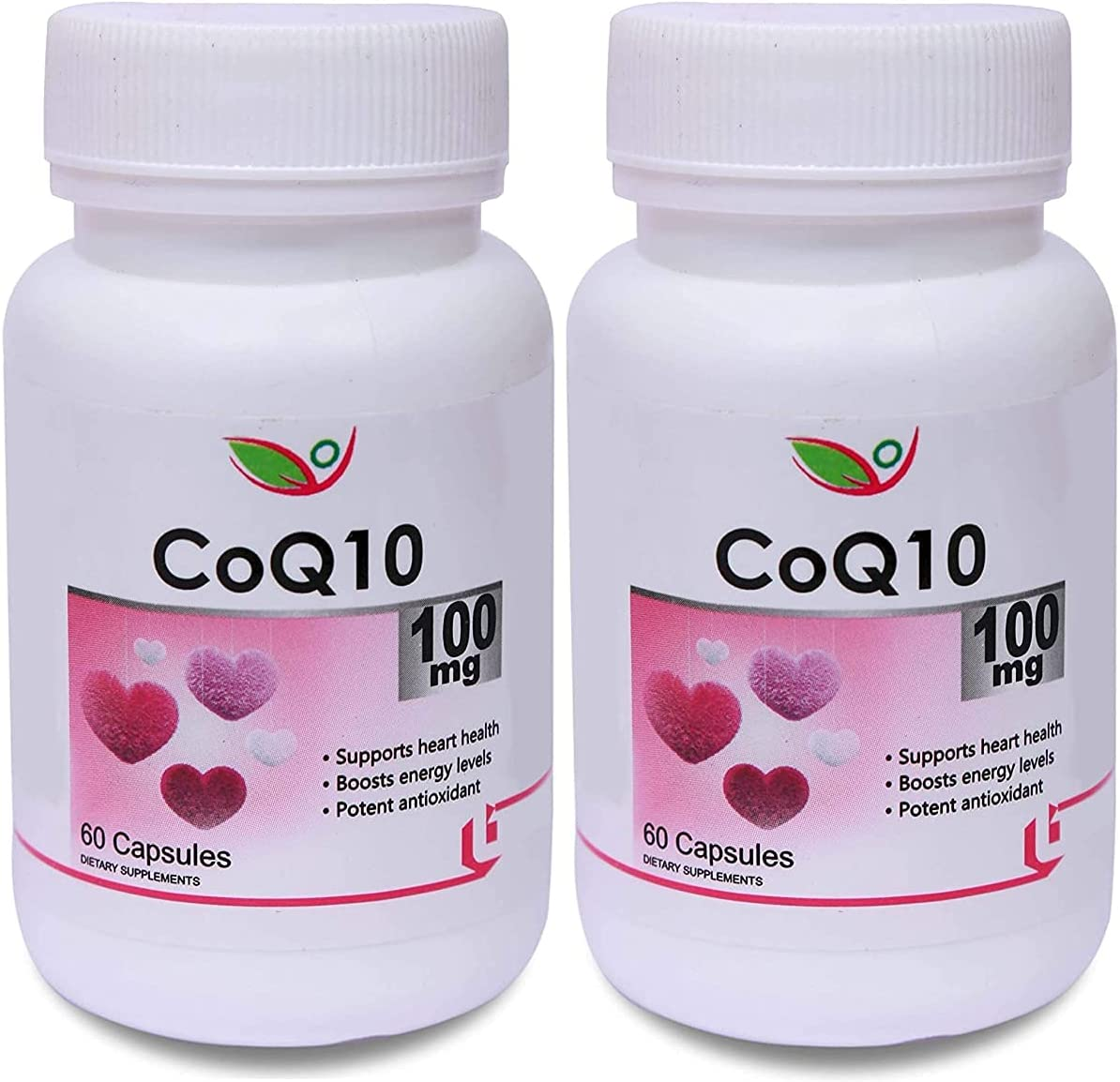 Trims Our shop most popular Biotrex CoQ10 100mg 60 Capsules of Potent antio New Free Shipping Pack 2