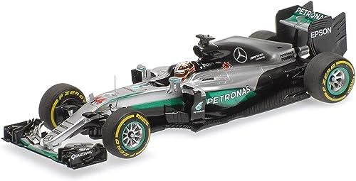 Minichamps 1.059.588.289,8  Mercedes AMG Petronas F1  ück Hybrid Lewis Hamilton Abu Dhabi GP Winner 5.120,6cm Druckguss Modell, Ma ab  1  43