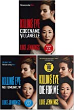 Killing Eve Series 3 Books Collection Set By Luke Jennings (Codename Villanelle, No Tomorrow, Die for Me)