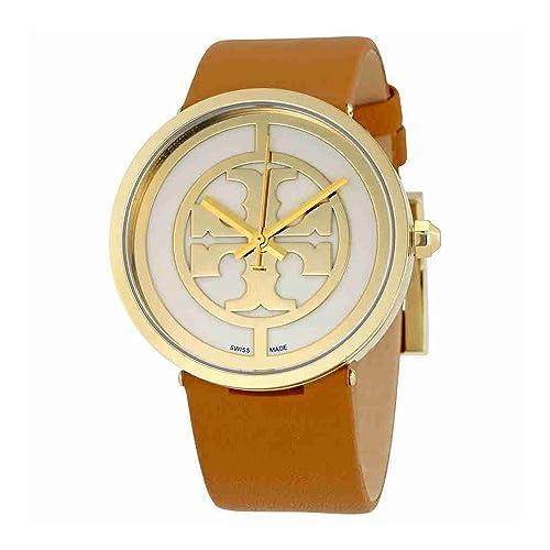 1260cb40b Tory Burch Reva Ivory Dial 38 MM Ladies Watch 4020