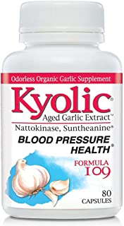 Kyolic Garlic Formula 109 Blood Pressure Health (80 Capsules)