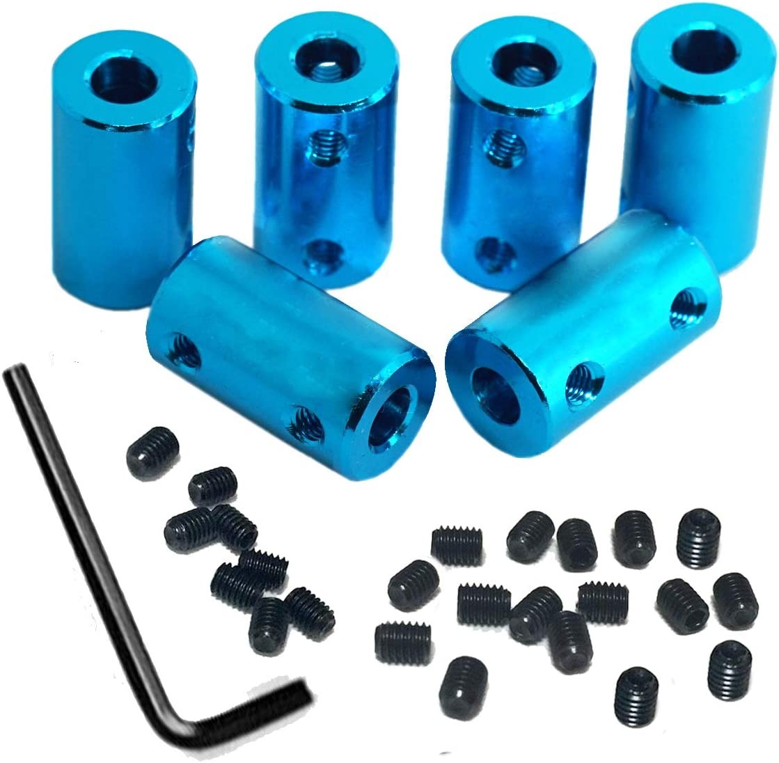 6Pack Treehobby Aluminium Alloy Shaft Rigid Stepper Coupling Mot All stores Al sold out. are sold